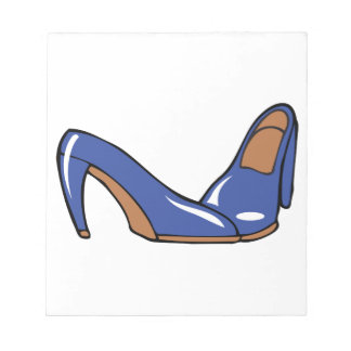 Womens Shoes Notepad