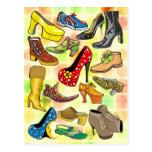 Women's Shoes Postcard