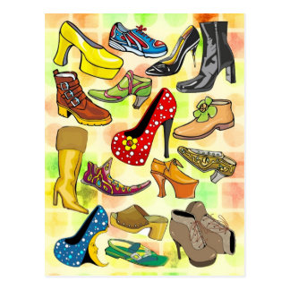 Women's Shoes Postcard