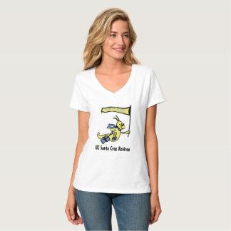 Women's Silver Slug V-Neck T-Shirt