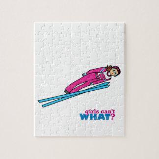 Womens Ski Jumping Puzzles