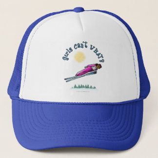 Womens Ski Jumping Trucker Hat