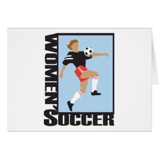 Women's Soccer Card