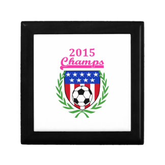 Womens Soccer Champs Jewelry Box