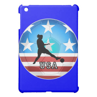 womens soccer iPad mini case