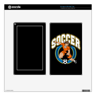 Women's Soccer Logo Decals For Kindle Fire