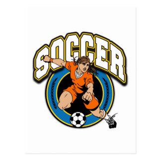 Women's Soccer Logo Postcard
