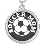 Womens Soccer Mom Necklace