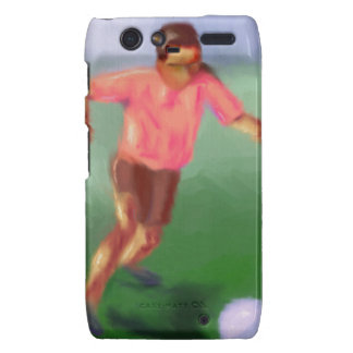 Women's Soccer Motorola Droid RAZR Covers