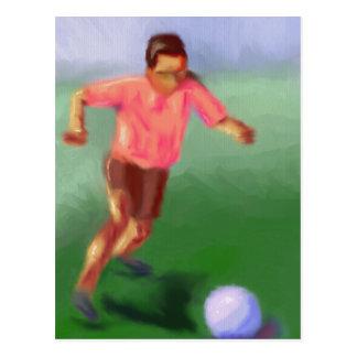 Women's Soccer Post Cards