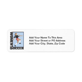 Women's Soccer T shirts and Gifts Label