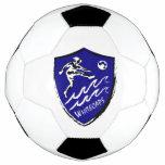 Women's soccer team soccer ball