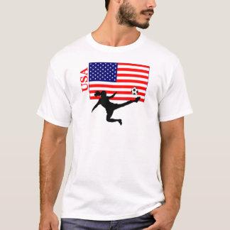 Women's Soccer USA T-Shirt
