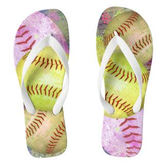 Women's Softball Flip Flops
