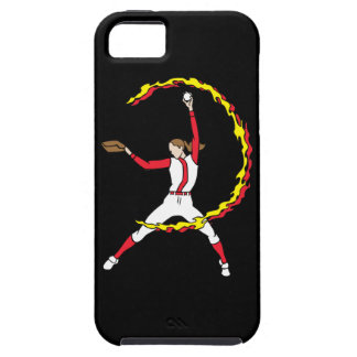 Womens Softball Pitcher iPhone 5 Cover