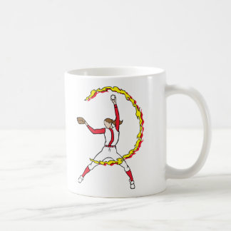 Womens Softball Pitcher Coffee Mug