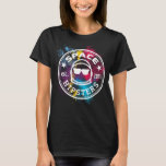 """Women&#39;s Space Hipsters Nebula T-shirt<br><div class=""""desc"""">Space Hipsters logo on a colorful nebula background.</div>"""