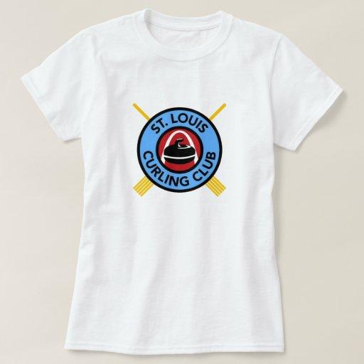 Women 39 S St Louis Curling Club T Shirt Zazzle