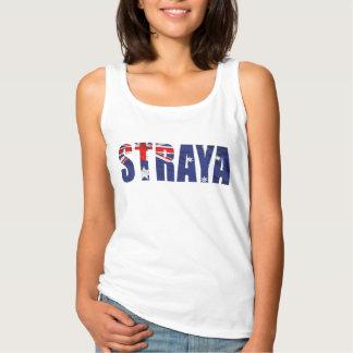 Womens STRAYA Singlet Tank Top