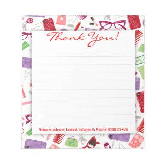 Women's Stuff - Custom Thank You Notepad