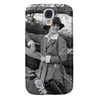 Women's Style in Golf Attire, early 1900s Samsung Galaxy S4 Cover