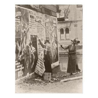Womens Sufferage Campain Postcard