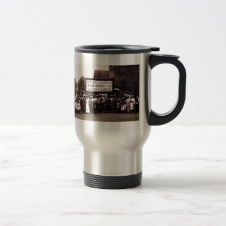 Women's Suffrage Group with Banner 15 Oz Stainless Steel Travel Mug