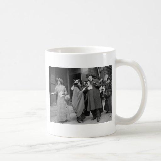 Women's Suffrage Handouts, 1913 Mug