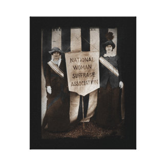 Women's Suffrage Movement Stretched Canvas Prints