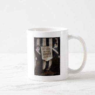 Women's Suffrage Movement Classic White Coffee Mug