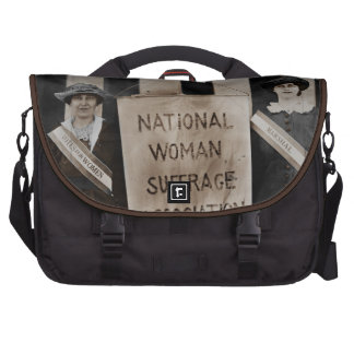 Women's Suffrage Movement Bags For Laptop
