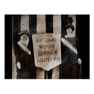 Women's Suffrage Movement Postcard