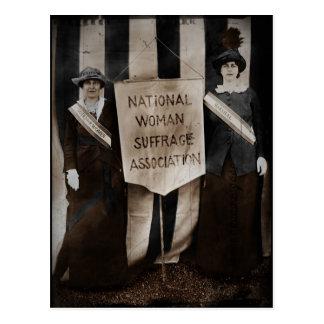Women's Suffrage Movement Postcard