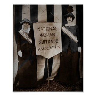 Women's Suffrage Movement Poster