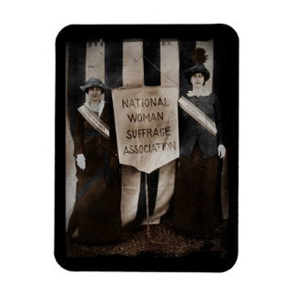Women's Suffrage Movement Rectangle Magnet
