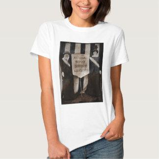 Women's Suffrage Movement T Shirt