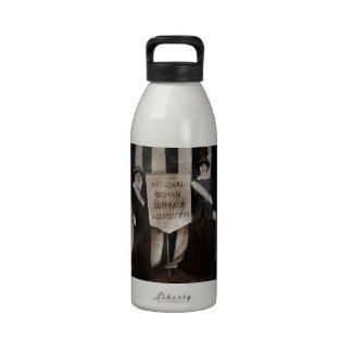 Women's Suffrage Movement Reusable Water Bottles