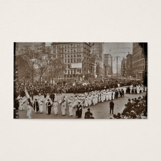 Women's Suffrage Parade 1912 Business Card