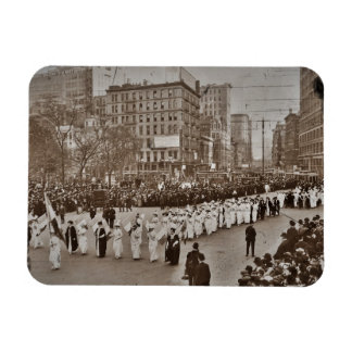 Women's Suffrage Parade 1912 Rectangle Magnet