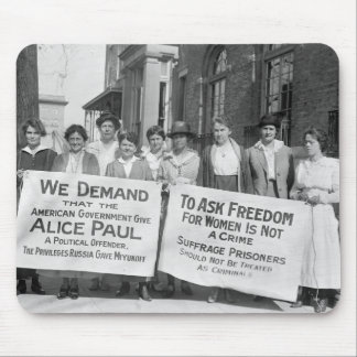 Women's Suffrage Pickets, 1917 Mouse Pad