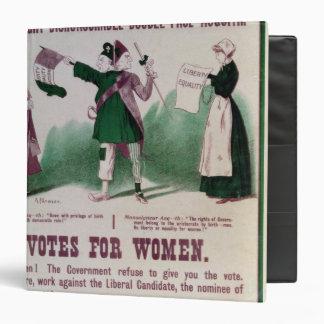 Women's Suffrage Poster Binder