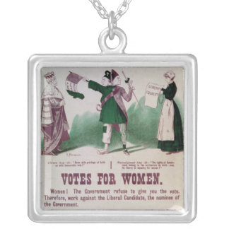 Women's Suffrage Poster Necklaces