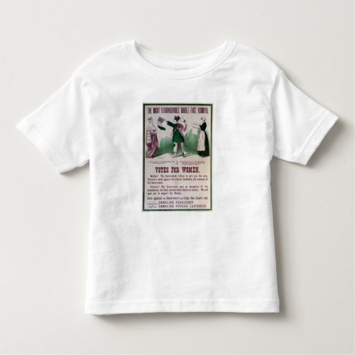 Women's Suffrage Poster T-shirt