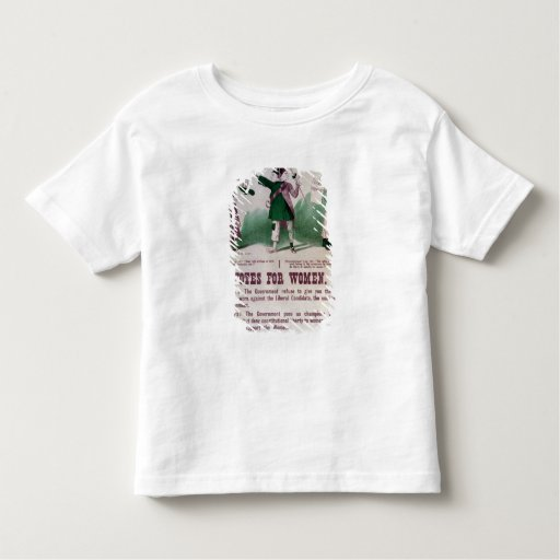 Women's Suffrage Poster Toddler T-shirt