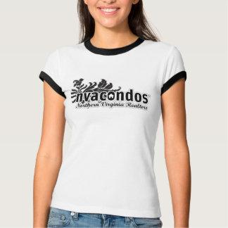 Women's Surfer Logo Ringer – 100% Proceeds Donated T-Shirt