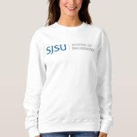 Women's Sweatshirt - Blue/Gray iSchool Logo