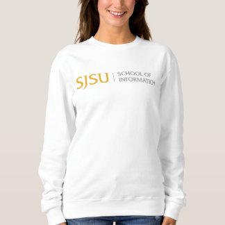 Women's Sweatshirt - Gold/Gray iSchool Logo