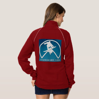 women's sweatshirt with mountain style logo