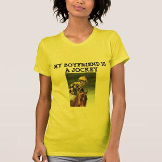 Women's T-MY BOYFRIEND IS A JOCKEY T-shirt
