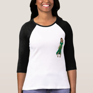 Womens T-shirt with charater